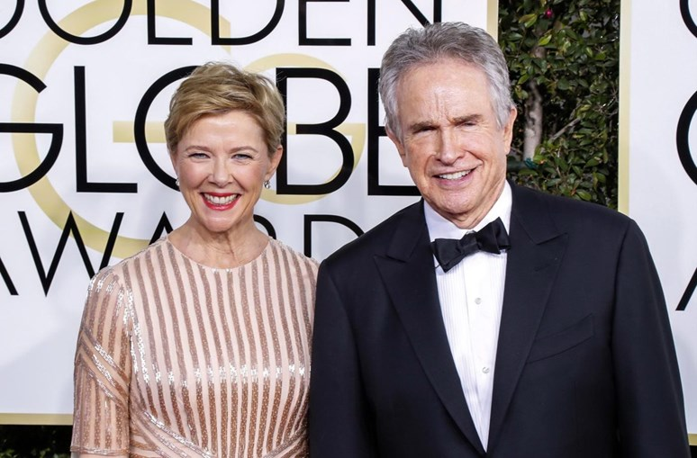 Annette Bening e Warren Beatty