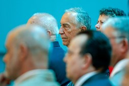 Marcelo Rebelo de Sousa visitou a Arsenal do Alfeite S.A., situada na Base Naval de Lisboa