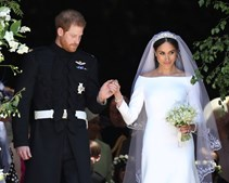 O Príncipe Harry incluiu no bouquet de Meghan as flores preferidas da sua mãe, a Princesa Diana